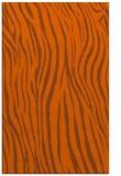 rug #407633    red-orange animal rug