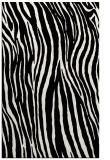 rug #407641 |  black stripes rug