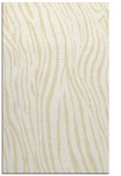 rug #407661 |  yellow stripes rug