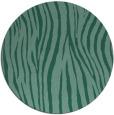 rug #407777 | round blue-green popular rug