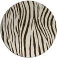 rug #407875   round animal rug