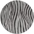 rug #407921 | round orange stripes rug