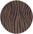 rug #407953 | round mid-brown popular rug