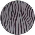 rug #407957   round purple stripes rug