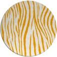 rug #408057 | round light-orange animal rug