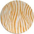 rug #408069 | round light-orange animal rug
