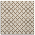 rug #410337 | square mid-brown rug
