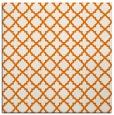 rug #410377   square orange rug