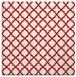 rug #410425 | square red traditional rug