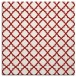 rug #410433 | square red traditional rug