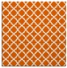 rug #410453 | square red-orange geometry rug
