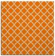 rug #410501 | square orange traditional rug