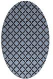 rug #410651 | oval traditional rug