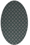 rug #410666 | oval traditional rug