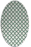 rug #410669 | oval traditional rug