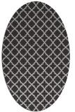 rug #410738 | oval geometry rug