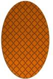 rug #410795 | oval traditional rug