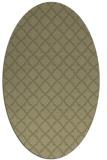 rug #410861   oval light-green popular rug