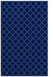 rug #411057 |  blue geometry rug