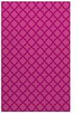 rug #411097 |  pink geometry rug