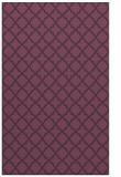 rug #411113 |  purple geometry rug