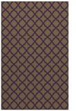 rug #411121 |  purple traditional rug