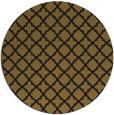 rug #411357   round black rug