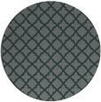 rug #411370 | round traditional rug