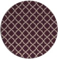 rug #411397 | round pink traditional rug