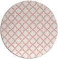 rug #411461 | round white traditional rug