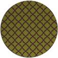 rug #411469   round purple rug