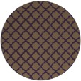 rug #411473 | round purple traditional rug