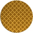 rug #411545 | round light-orange traditional rug