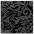 rug #411953   square black damask rug