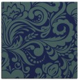 rug #411977 | square blue damask rug