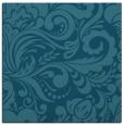 rug #411993   square blue-green damask rug