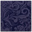 rug #412029   square blue-violet damask rug
