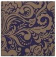rug #412053 | square blue-violet damask rug