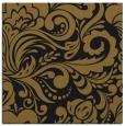 rug #412061 | square mid-brown damask rug