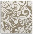 rug #412085   square mid-brown rug