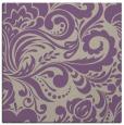 rug #412125 | square beige damask rug