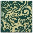 rug #412149 | square yellow damask rug