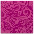 rug #412153 | square pink damask rug