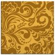rug #412249 | square light-orange damask rug