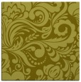 rug #412265 | square light-green damask rug