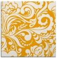 rug #412281 | square light-orange damask rug