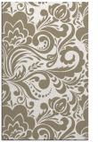 rug #412649 |  white damask rug