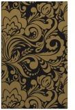 rug #412669    brown damask rug