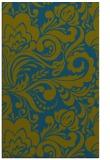 rug #412709    green damask rug