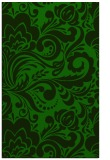 rug #412717 |  green damask rug